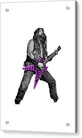 Zakk Guitarist Acrylic Print by Andrea Mazzocchetti
