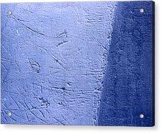 Zambonied Ice Acrylic Print by Ken Yackel