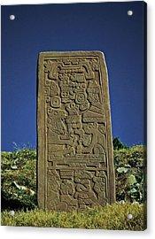 Zapotec History Acrylic Print