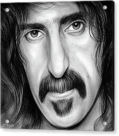 Zappa Acrylic Print by Greg Joens