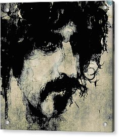 Zappa Acrylic Print by Paul Lovering