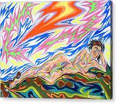 Zapped Acrylic Print by Robert SORENSEN