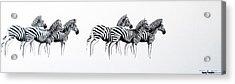 Zebrascape - Original Artwork Acrylic Print