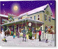 Zebs General Store In North Conway New Hampshire Acrylic Print