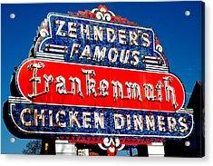 Acrylic Print featuring the photograph Zehnder's Frankenmuth Michigan by LeeAnn McLaneGoetz McLaneGoetzStudioLLCcom