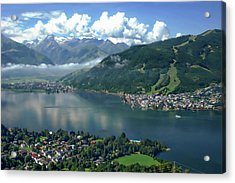 Zell Am See Panorama Acrylic Print