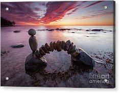 Zen Arch Acrylic Print