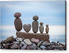 Zen Family Acrylic Print