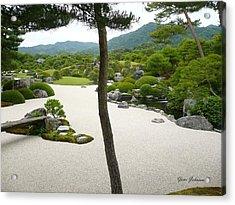 Zen Garden Acrylic Print by Yumi Johnson