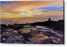 Zen Morning Acrylic Print