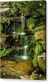 Acrylic Print featuring the photograph Zen Pools - Provo River Falls by TL Mair