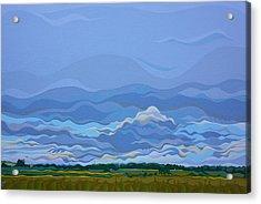 Zen Sky Acrylic Print