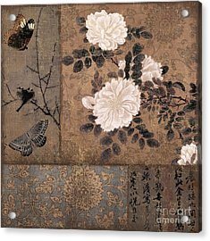Zen Spice Acrylic Print by Mindy Sommers