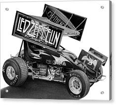 Zeppelin Sprinter Acrylic Print by Lyle Brown