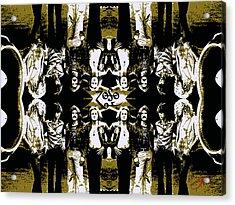 Zeppelin Times Four Acrylic Print by Dancin Artworks