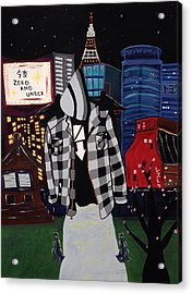 Zero And Under Goes To Tokyo Acrylic Print