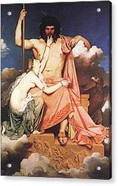 Zeus And Thetis  Acrylic Print