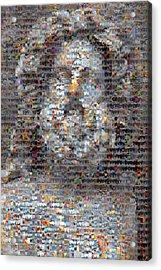 Zeus Acrylic Print by Boy Sees Hearts