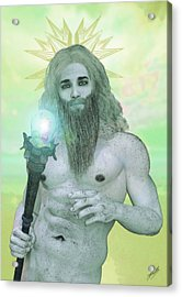 Zeus King Of The Gods Acrylic Print by Joaquin Abella
