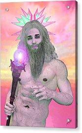 Zeus Seen By Ganymede Acrylic Print by Quim Abella