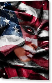 Forgotten Patriot Acrylic Print