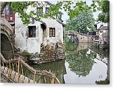 Zhouzhuang - A Watertown Acrylic Print