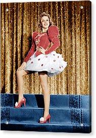 Ziegfeld Girl, Judy Garland, 1941 Acrylic Print by Everett
