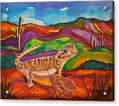 Ziggy Acrylic Print by Dale Bernard