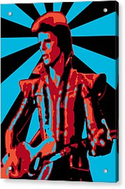 Ziggy Played Guitar Acrylic Print