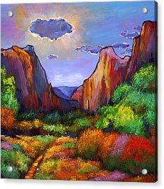 Zion Dreams Acrylic Print by Johnathan Harris