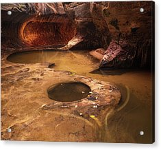 Acrylic Print featuring the photograph Zion  by Dustin LeFevre