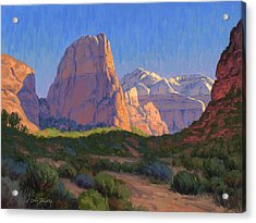 Zion Light Show Acrylic Print