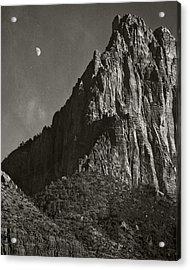 Zion Moonrise Acrylic Print