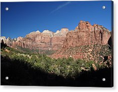 Zion Morning Acrylic Print
