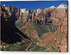 Zion Valley Acrylic Print