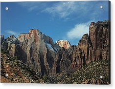 Zion's Rock Towers Acrylic Print