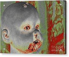 Zombie Baby Acrylic Print