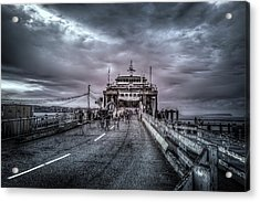 Acrylic Print featuring the photograph Zombie Ferry Ride by Spencer McDonald