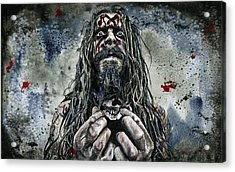 Zombie Acrylic Print