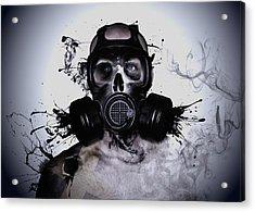 Zombie Warrior Acrylic Print