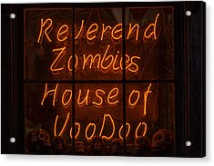 Zombies House Of Voodoo Acrylic Print by Garry Gay