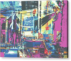Zone Acrylic Print by Shay Culligan