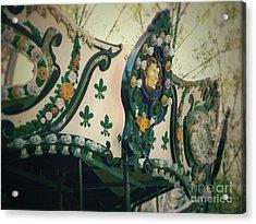 Zoo Carousel Ma Acrylic Print