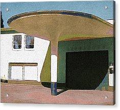 Zoo Garage, Cologne, Germany. Acrylic Print