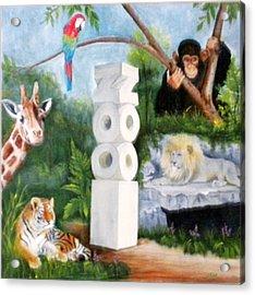 Zoo Acrylic Print