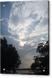 Zooey's Sky Acrylic Print by Jessica Breen