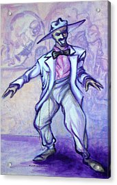Zoot Suit Acrylic Print by Kevin Middleton