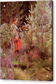 Zorn Anders Vallkulla Acrylic Print