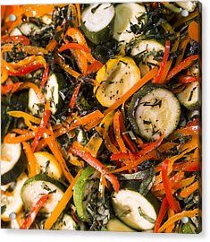 Zucchini Salad Acrylic Print