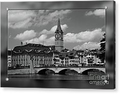 Zuerich Acrylic Print